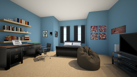 jedediah - Bedroom - by carli1504