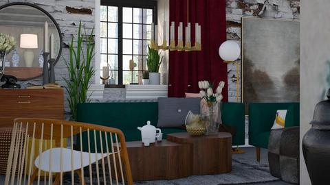 Messy and uninspired - Vintage - Living room - by HenkRetro1960