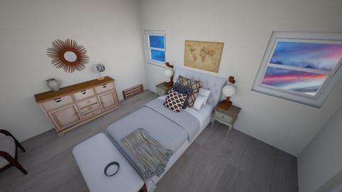 Rustic Bedroom - Rustic - Bedroom - by AnnalieseS