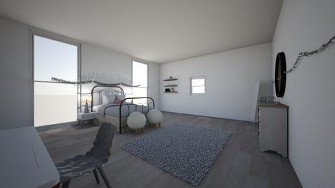 teen bedroom - Bedroom - by kaleighsksk