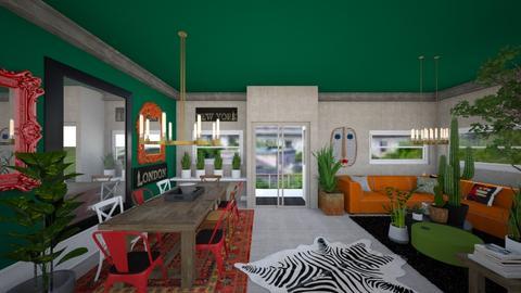 Urban Jungle - Living room - by du321