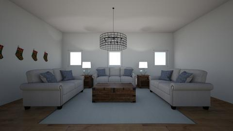 Family Room 1 - Living room - by Poey
