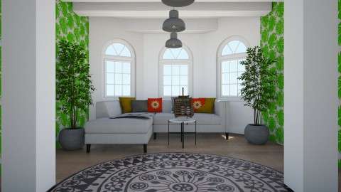 tropical haven - Living room - by bellastinks