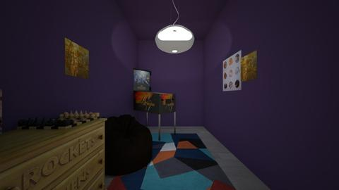 Spacee - Bedroom - by Jayox0808080
