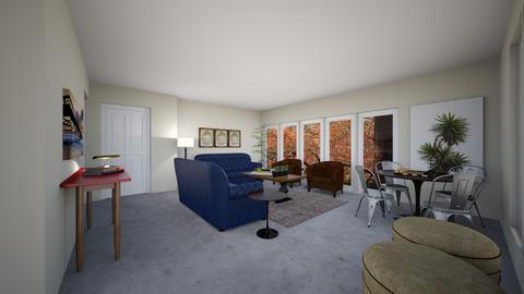 FolsomLG8 - Living room - by evakarwowska