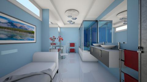 Van der Valk 1 - Modern - Bathroom - by Theadora