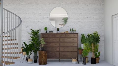 Urban Jungle Hallway - by ivetyy1010
