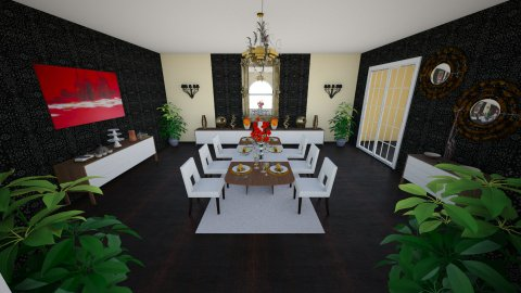 dining room  - Dining room - by _one_only_