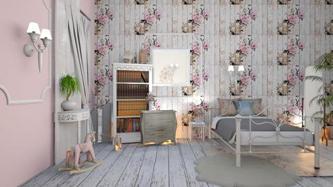 chic shab - Vintage - Bedroom - by JoyG23
