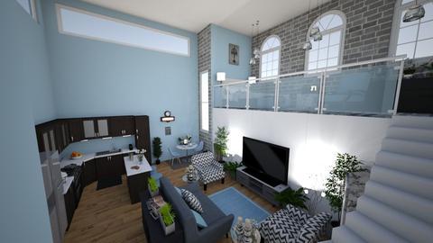 loft liv - Living room - by M155Vae