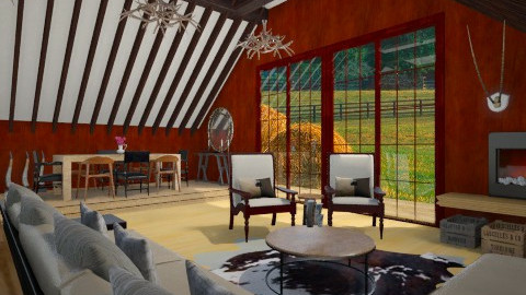 Modern Country Living - Country - Living room - by giulygi