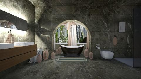 bambooz - Eclectic - Bathroom - by thelmatt