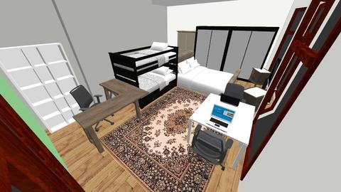 Master Room 5 - Bedroom - by muchachos02