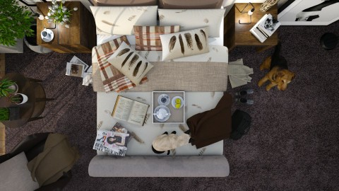 Orkney Kalat - Bedroom - by Ania Daliva
