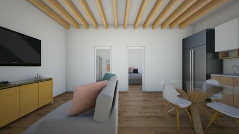 1 room house - by elisa sagie