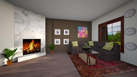 cozy contemperary living - Modern - Living room - by The vamps lover