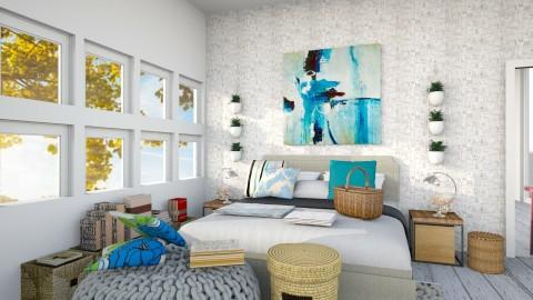 MB - Rustic - Bedroom - by Seii Saii