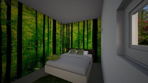 forest theme bedroom - Rustic - Kitchen - by Drawing with lil
