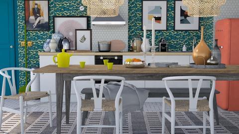 Dining - Modern - Dining room - by HenkRetro1960