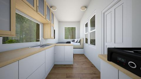 Shipping Container Home - Bedroom - by SammyJPili