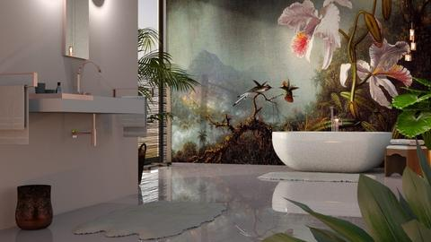 Martin Johnson Heade - Bathroom - by GraceKathryn