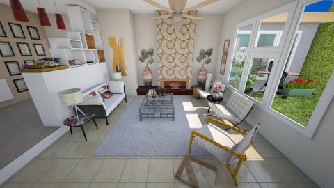 Mid century vibe - Retro - Living room - by mrschicken