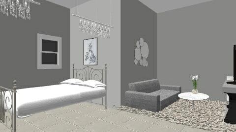 grijs xx - Bedroom - by illyanaxx