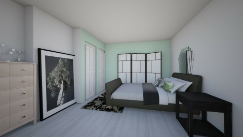 Bedroom redesign 10 - Minimal - Bedroom - by gusswims