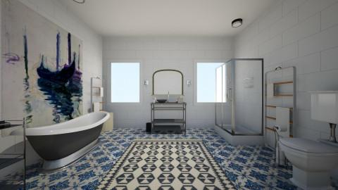 blue - Modern - Bathroom - by LAS95