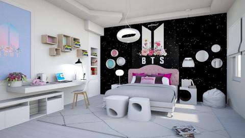 Modern Playful Bedroom  - Kids room - by matina1976