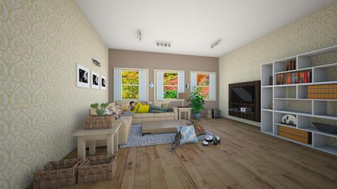 cozy - Living room - by Franco Juliano Tan