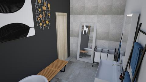 Studio Bathroom 1 - Eclectic - Living room - by SuitePoshDesigns