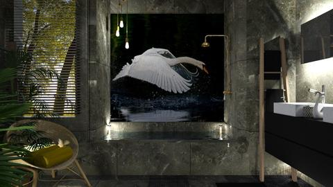 Swan bath - by rossella63