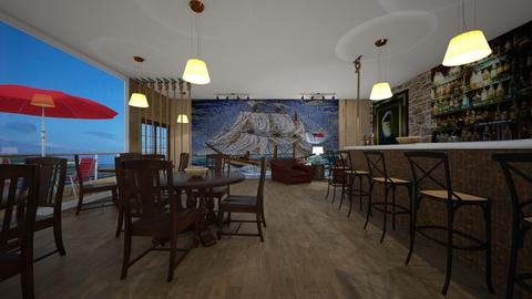 Fishermans Wharf Pub - by Angie Weir