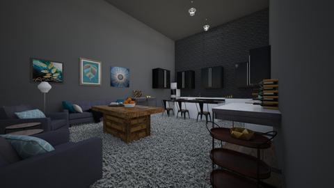 Modern Kitchen Room - by MangaandCatManiac