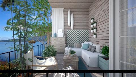 small balcony view - by Senia N