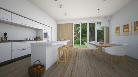 Naturally - Modern - Kitchen - by Tuija