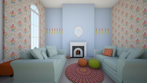 modern shabby - Living room - by famasamusa