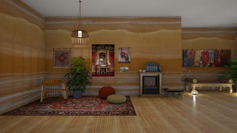 Cozy Den - Living room - by jammuek