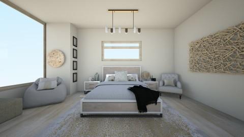 Cream Beige - Bedroom - by TasiaClarke