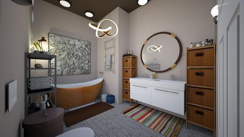 Ecclectic Bathroom - Bathroom - by awhite946