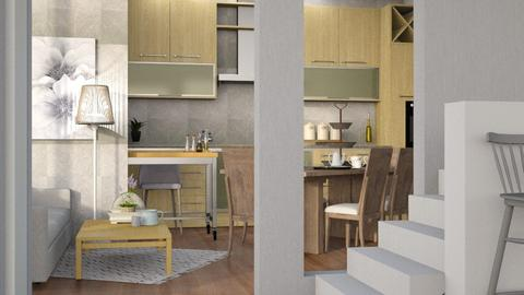 Apartment  - Modern - Kitchen - by Jessica Fox