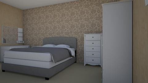 2 - Modern - Bedroom - by Anelia1601