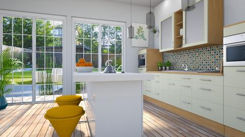 Playful kitchen - Modern - Kitchen - by euodia