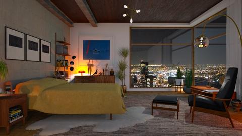mc modern bedroom - Living room - by bnu