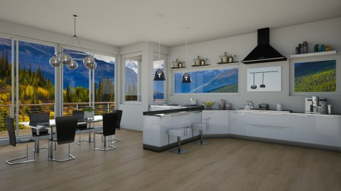 Hilary Farr - Eclectic - Kitchen - by deleted_1524667005_Elena68