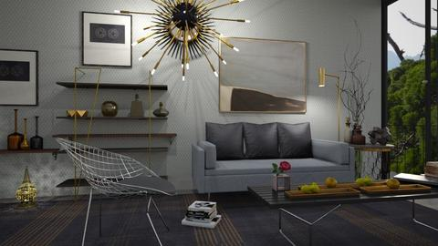 M_BP - Eclectic - Living room - by milyca8