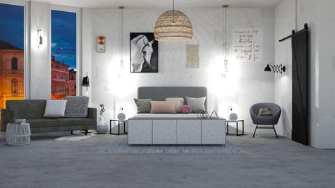 IP Terrazzo - Modern - Bedroom - by Evie11