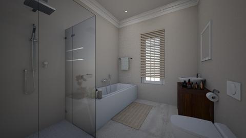 fam bathroom  - Bathroom - by Sadiesct