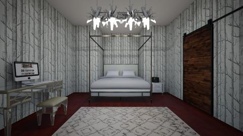 Gray Forest  - Modern - Bedroom - by Brynn S_732
